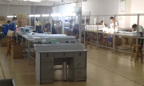 assembling of led lighting products