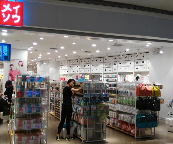 led downlights and tracklights used in drugstores