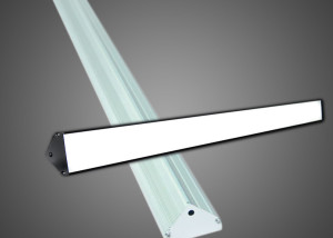 led linear strip bar triangle shape