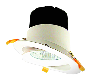 LED rotatable downlight widely used