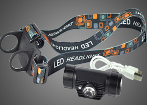 angle adjustable IR headlamp